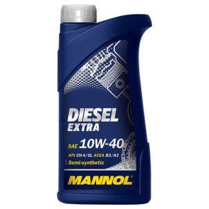 Масло моторное полусинтетическое MANNOL Diesel Extra SAE 10w40 1L