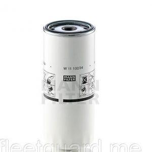 Фильтр масляный MANN-FILTER W11102/34