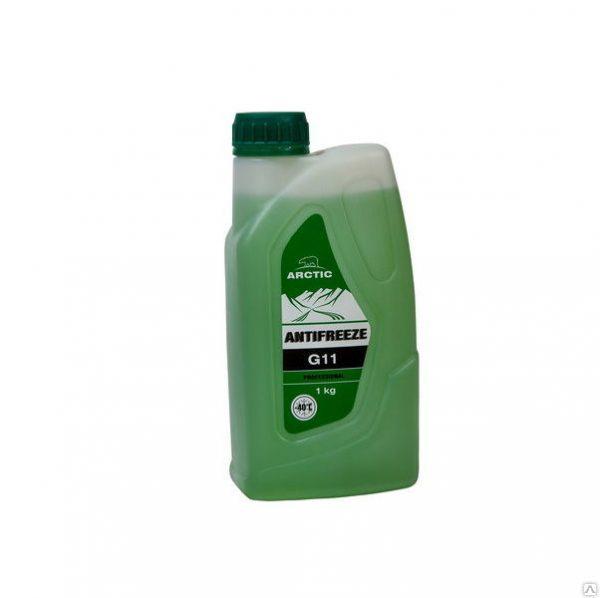 Антифриз зеленый ARCTIC G-11 1кг.
