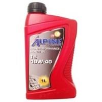 Масло моторное полусинтетическое Alpine TS 10w40 1л.
