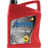 Масло моторное полусинтетическое Alpine TS 10w40 5л.