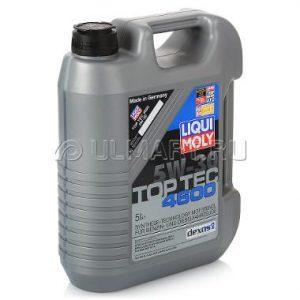 Масло моторное синтетическое универсальное Liqui Moly Top Tec 4600 5w30 5л.