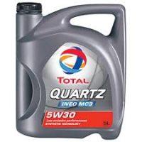 Масло моторное синтетическое Total QUARTZ INEO MC3 5w30 5L.