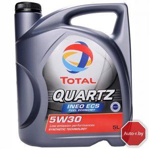 Масло моторное синтетическое  Total QUARTZ INEO ECS 5w30 5L.