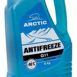 Антифриз синий ARCTIC G-11 5кг.
