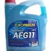 """Антифриз Eurofreeze AFG 11"""" синий 4,2л (4,8кг) (РБ)"""